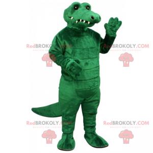 Mascotte animale - coccodrillo - Redbrokoly.com