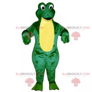 Aquatic animal mascot - Frog - Redbrokoly.com