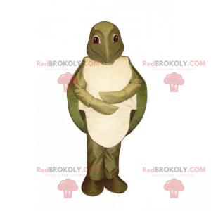 Maskot vodních zvířat - želva - Redbrokoly.com