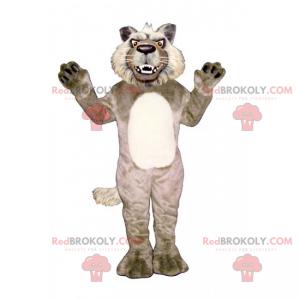 Hunter zvířecí maskot - Vlk - Redbrokoly.com