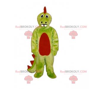 Cartoon Tier Maskottchen - Dinosaurier - Redbrokoly.com