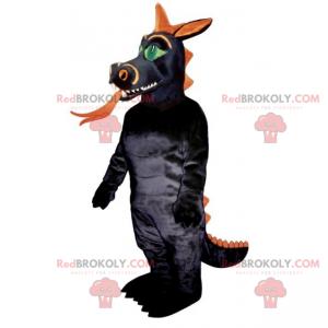 Fiktivní zvířecí maskot - drak - Redbrokoly.com
