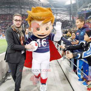 Maskot fotbalisty Euro 2016 - Redbrokoly.com
