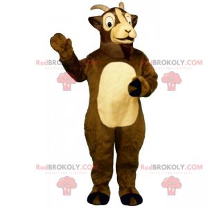 Mascotte degli animali da fattoria - Ariete - Redbrokoly.com