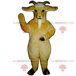 Mascotte boerderijdier - Geit - Redbrokoly.com