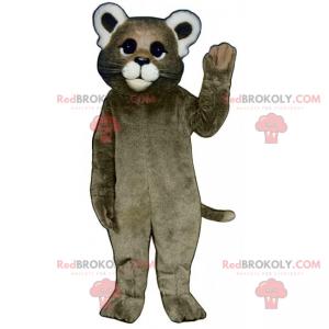 Farm animal maskot - Cat - Redbrokoly.com
