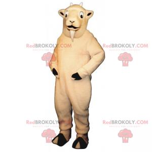 Mascote de animal de fazenda - Cabra - Redbrokoly.com