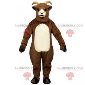 Husdyr maskot - To-tone ged - Redbrokoly.com