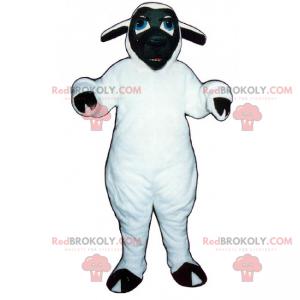 Mascotte animale da fattoria - pecora faccia nera -