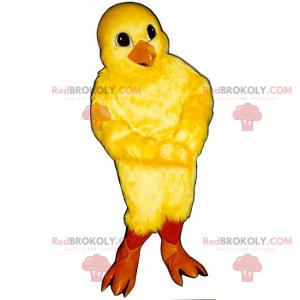 Maskot hospodářských zvířat - kuřátko - Redbrokoly.com