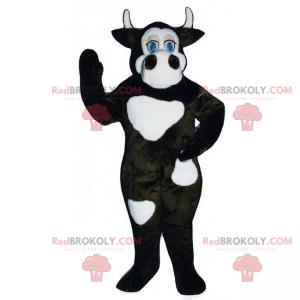 Farm animal mascot - Cow with small horns - Redbrokoly.com