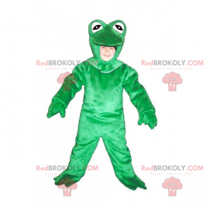 Forest animal mascot - Green frog - Redbrokoly.com