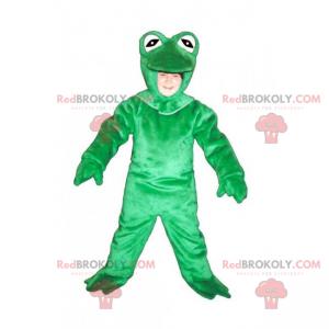 Maskot lesních zvířat - zelená žába - Redbrokoly.com