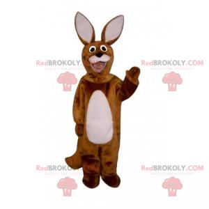 Forest animal mascot - Rabbit with big ears - Redbrokoly.com