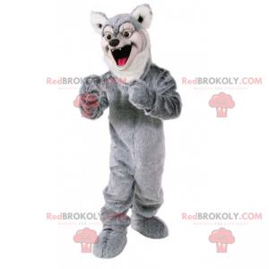 Maskotka zwierzę leśne - Wilk szary - Redbrokoly.com
