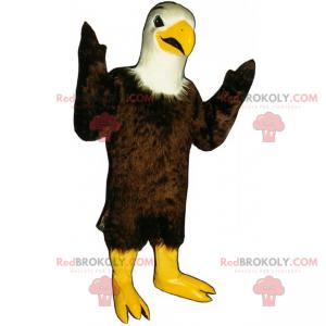 Forest animal mascot - Golden eagle - Redbrokoly.com
