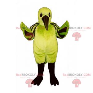 Forest animal mascot - Bird with a long beak - Redbrokoly.com