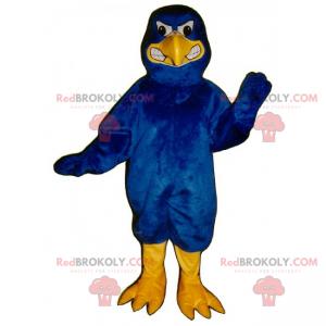 Forest animal mascot - Aggressive blue eagle - Redbrokoly.com