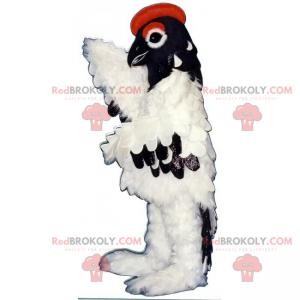 Maskot lesních zvířat - majestátní pták - Redbrokoly.com
