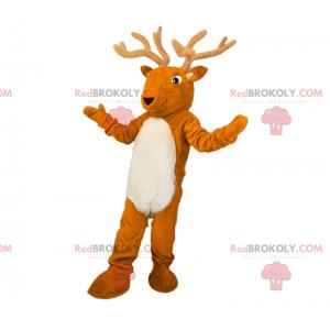 Maskot lesních zvířat - sob se skvělými parohy - Redbrokoly.com