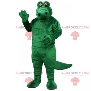Mascote animal da savana - crocodilo - Redbrokoly.com