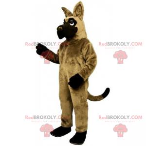 Pets mascot - German Shepherd - Redbrokoly.com