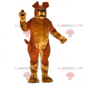 Maskot zvířat - pes s velkýma ušima - Redbrokoly.com