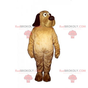 Haustiere Maskottchen - Hund mit einer schönen Schnauze -