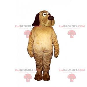 Maskot mazlíčků - pes s pěknou tlamou - Redbrokoly.com