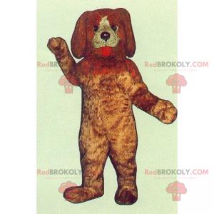 Pets maskot - Hund med lange ører - Redbrokoly.com