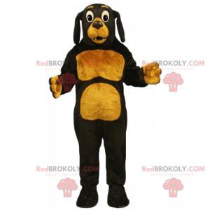 Pets mascot - Brown dog and caramel - Redbrokoly.com