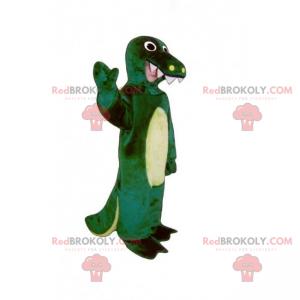 Vilde dyr maskot - krokodille - Redbrokoly.com