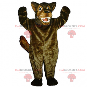 Wild animal mascot - Big wolf - Redbrokoly.com
