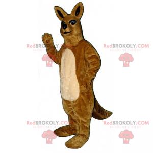 Wild animal mascot - Kangaroo - Redbrokoly.com