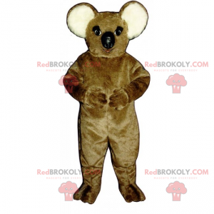 Wild dier mascotte - Koala - Redbrokoly.com