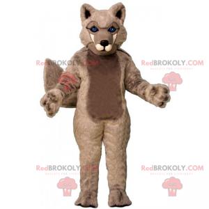 Maskot divokých zvířat - vlk - Redbrokoly.com