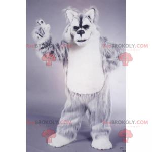 Wild animal mascot - Snow lynx - Redbrokoly.com