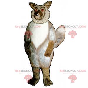 Divoký zvířecí maskot lesa - liška - Redbrokoly.com