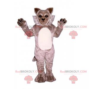 Wild dier mascotte van de berg - Vos - Redbrokoly.com