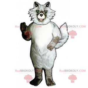 Wildes Bergtier Maskottchen - Wolf - Redbrokoly.com