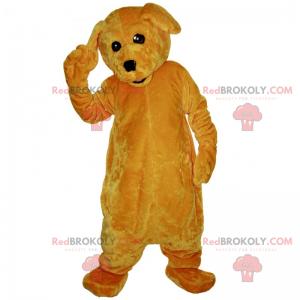 Soft brown dog mascot - Redbrokoly.com