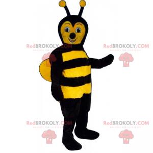 Mascote de abelha de casaco macio - Redbrokoly.com