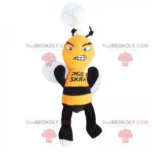 Boj včelí maskot - Redbrokoly.com