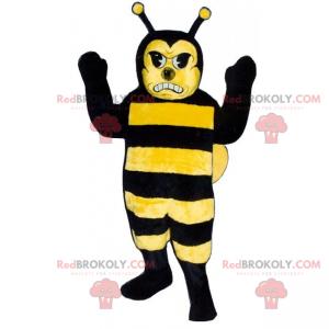 Rozzlobený včelí maskot - Redbrokoly.com