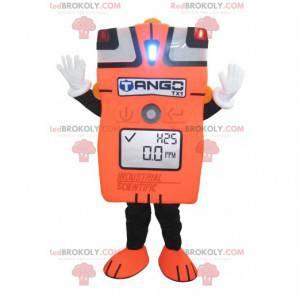 Giant orange ammeter mascot - Redbrokoly.com