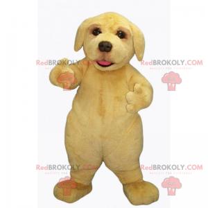 Adorable baby labrador mascot - Redbrokoly.com