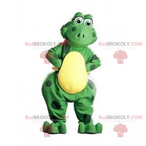 Entzückendes lächelndes Froschmaskottchen - Redbrokoly.com