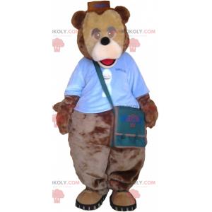 Roztomilý kulatý panda maskot - Redbrokoly.com