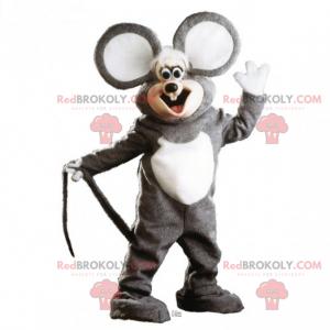 Entzückendes Mausmaskottchen mit sehr großen Ohren -