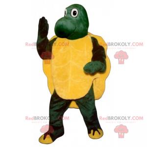 Schattige schildpadmascotte - Redbrokoly.com